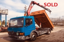 Mercedes-Benz | Mercedes 8.17 (tipper & crane ) SOLD
